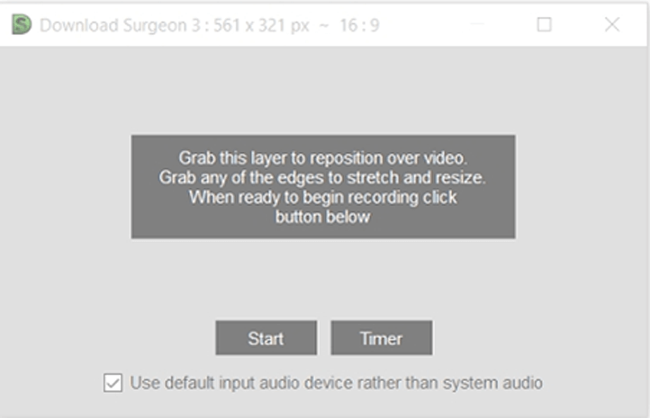 Download Surgeon | User Guide | Version 3